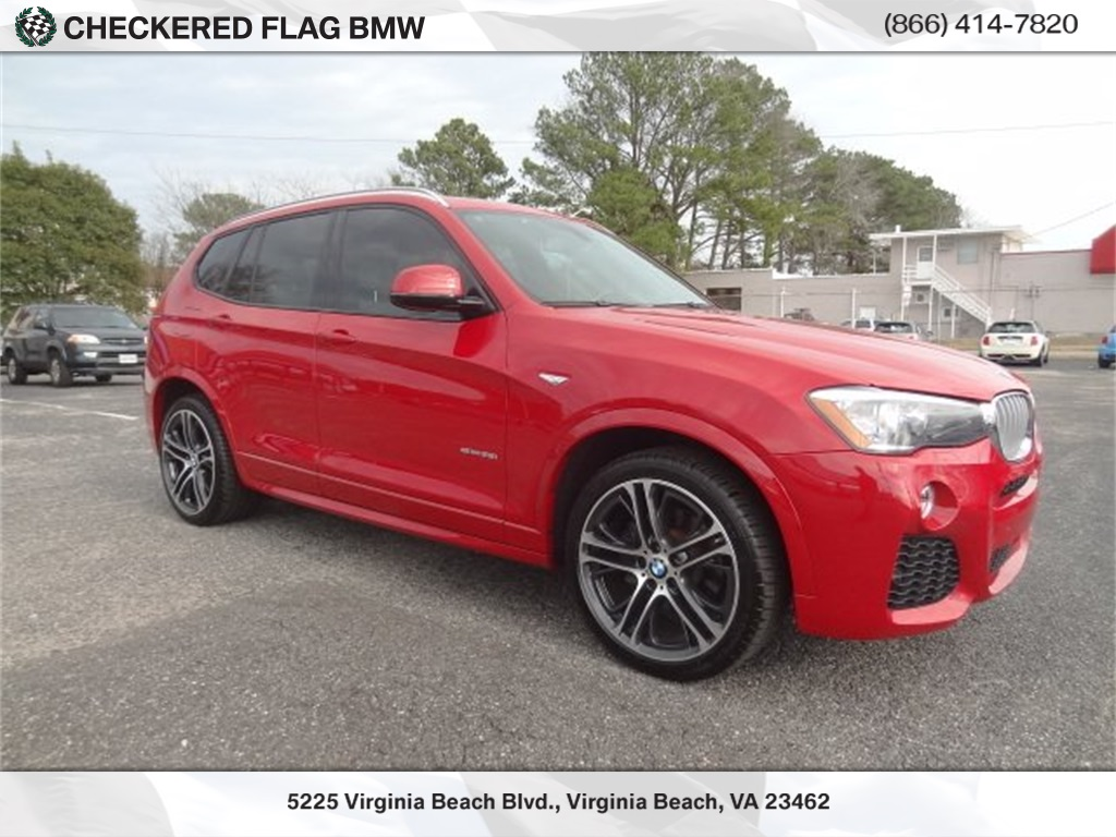 Pre Owned 2016 Bmw X3 Rwd 4d Sport Utility Sdrive28i