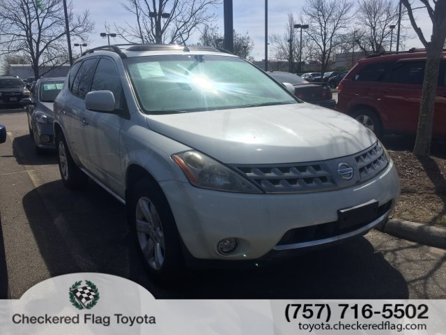 2007 Nissan Murano >> Pre Owned 2007 Nissan Murano Awd S
